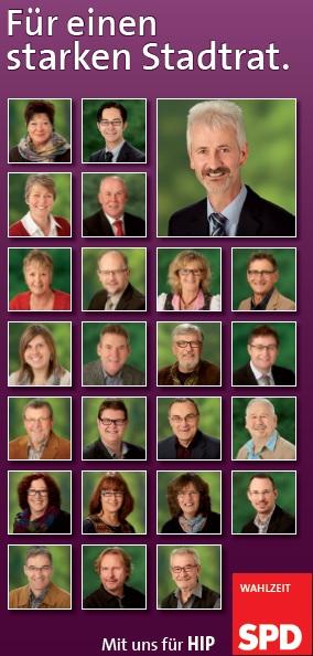 Foto Stadtratswahl 2014 Kandidaten