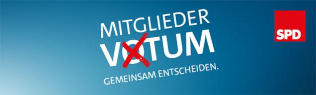Mitgliedervotum SPD
