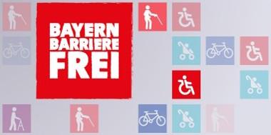 Banner Bayern barrierefrei