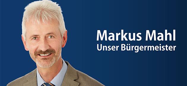 Bürgermeister Markus Mahl, Hilpoltstein