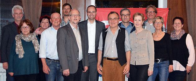 Vorstand SPD Hilpoltstein