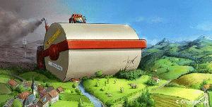 Greenpeace TTIP-Walze
