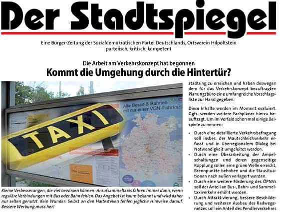 Bild Stadtspiegel Juli 2016