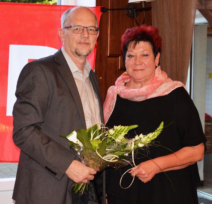 Rainer Herbrecher und Christine Rodarius