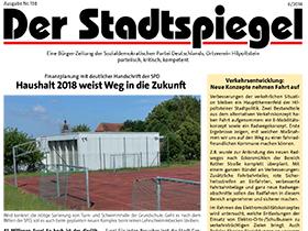 Bild Stadtspiegel Juni 2018