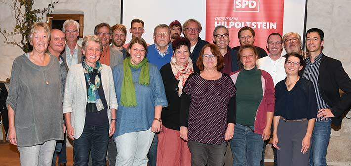 SPD-Kandidaten für die Stadtratswahl 2020